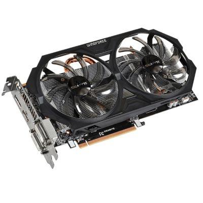 Видеокарта Gigabyte PCI-E AMD Radeon R7 370 4096Mb 256bit GDDR5 975/5600 DVIx1/HDMIx1/DPx1 Ret GV-R737WF2OC-4GD