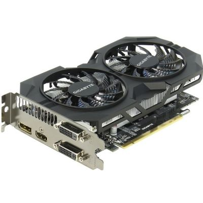 Видеокарта Gigabyte PCI-E nVidia GeForce GTX 950 2048Mb 128bit GDDR5 1102/6610 DVIx1/HDMIx1/DPx1/HDCP Ret GV-N950WF2OC-2GD