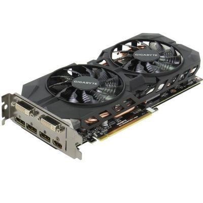 Видеокарта Gigabyte PCI-E nVidia GeForce GTX 960 4096Mb 128bit GDDR5 1241/7010 DVIx1/HDMIx1/DPx3/HDCP Ret GV-N960WF2OC-4GD