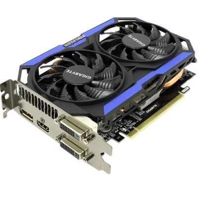 Видеокарта Gigabyte PCI-E nVidia GeForce GTX 960 4096Mb 128bit GDDR5 1216/7010 DVIx2/HDMIx1/DPx1/HDCP Ret GV-N960OC-4GD