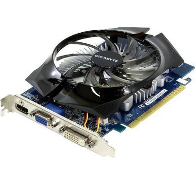 Видеокарта Gigabyte PCI-E nVidia GeForce GT 730 1024Mb 64bit GDDR5 902/5000 DVIx1/HDMIx1/CRTx1/HDCP Ret GV-N730D5OC-1GI