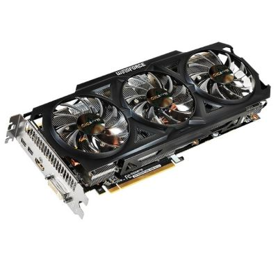 Видеокарта Gigabyte PCI-E AMD Radeon R9 280 3072Mb 384bit GDDR5 950/5000/HDMIx1/mDPx2/HDCP Ret GV-R928WF3OC-3GD