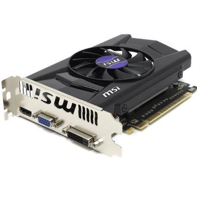Видеокарта MSI nVidia GeForce GTX 750 1024Mb 128bit GDDR5 1059/5000 DVIx1/HDMIx1/CRTx1/HDCP Ret N750-1GD5/OCV1
