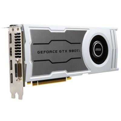 ���������� MSI PCI-E nVidia GeForce GTX 980TI 6144Mb 384bit GDDR5 1000/7010 DVIx1/HDMIx1/DPx3/HDCP Ret GTX 980TI 6GD5 V1