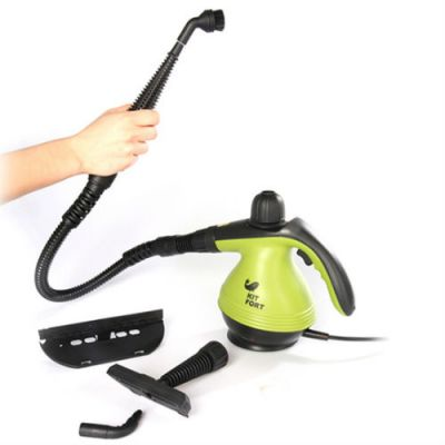 Пароочиститель Kitfort ручной КТ-906 1200Вт зеленый