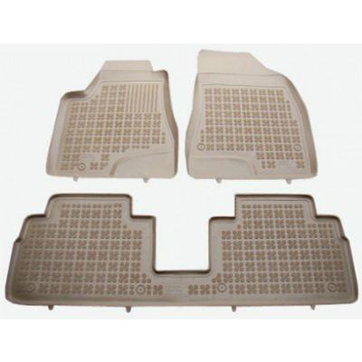 Rezaw-Plast Коврики салона Lexus RX450H 2012-> с бортиками полиуретановые БЕЖЕВЫЕ (3 части) ST 49-00309
