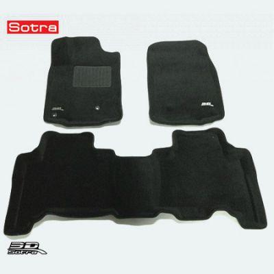 Sotra Коврики салона текст.Toyota Land Cruiser 150 Prado 2009-2012 LINER 3D Lux с бортиком черные STR74-00219