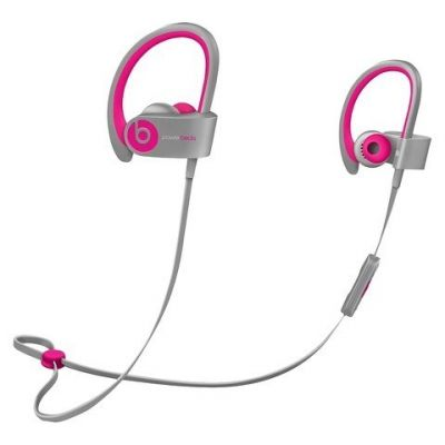 Наушники с микрофоном Apple Beats PowerBeats2 Pink/Grey MHBK2ZM/A