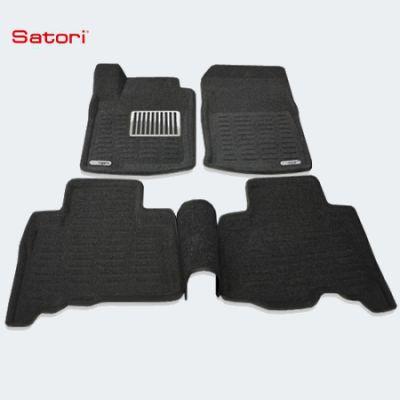 Satori Коврики салона текст.Toyota Land Cruiser 150 Prado 2009-> Satori с бортиком черные (с металлическим подпятником) SI 05-00169