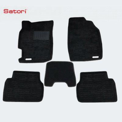 Satori Коврики салона текст.Mazda 6 2003-> Satori с бортиком черные SI 02-00073