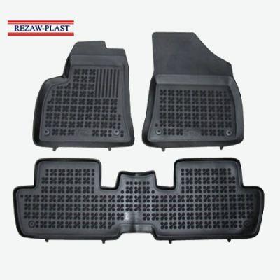 Rezaw-Plast Коврики салона Peugeot 3008 2009-> с бортиками полиуретановые (3 части) ST 49-00240
