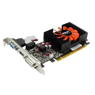 Видеокарта Palit PCI-E PA-GT730-1GD3 nVidia GeForce GT 730 1024Mb 128bit DDR3 700/1400 DVIx1/HDMIx1/CRTx1/HDCP oem NEAT7300HD01-1085F BULK