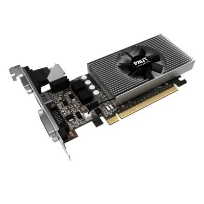 ���������� Palit PCI-E PA-GT730-1GD5 nVidia GeForce GT 730 1024Mb 64bit GDDR5 902/5000 DVIx1/HDMIx1/CRTx1/HDCP oem NE5T7300HD06-2081F BULK
