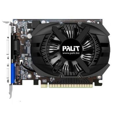 Видеокарта Palit PCI-E PA-GT740-OC-2GD5 nVidia GeForce GT 740 2048Mb 128bit GDDR5 993/5000 DVIx1/mDVIx1/CRTx1/HDCP Bulk NE5T740S1341-1073F BULK