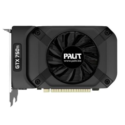 ���������� Palit PA-GTX750Ti StormX 1G nVidia GeForce GTX 750Ti 1024Mb 128bit GDDR5 1020/5400 DVIx1/mDVIx1/CRTx1/HDCP Ret NE5X75T01301-1073F
