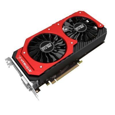 Видеокарта Palit PCI-E PA-GTX960 JetStream 4G nVidia GeForce GTX 960 4096Mb 128bit GDDR5 1127/7000 DVIx2/HDMIx1/DPx1/HDCP Ret NE5X960010G1-2061J