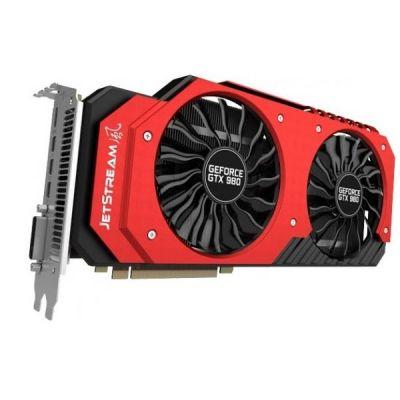 ���������� Palit PCI-E PA-GTX980 JETSTREAM 4G nVidia GeForce GTX 980 4096Mb 256bit GDDR5 1203/7200 DVIx1/mDVIx1/mDPx3/HDCP Ret NE5X980H14G2-2042J