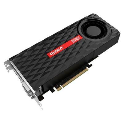 Видеокарта Palit PCI-E PA-GTX960-OC-2G nVidia GeForce GTX 960 2048Mb 128bit GDDR5 1165/7200 DVIx2/HDMIx1/DPx1/HDCP Ret NE5X960S1041-2061F
