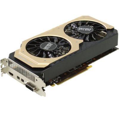 Видеокарта Palit PCI-E PA-GTX970 JETSTREAM 4G nVidia GeForce GTX 970 4096Mb 256bit GDDR5 1152/7000 DVIx1/mDVIx1/mDPx3/HDCP Ret NE5X970H16G2-2043J