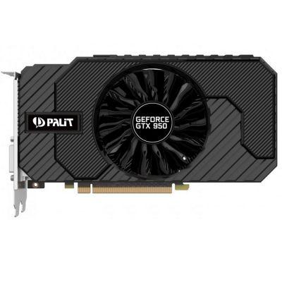 Видеокарта Palit PCI-E PA-GTX950 StormX 2G nVidia GeForce GTX 950 2048Mb 128bit GDDR5 1026/6610 DVIx2/HDMIx1/DPx1/HDCP Ret NE5X95001041-2063F