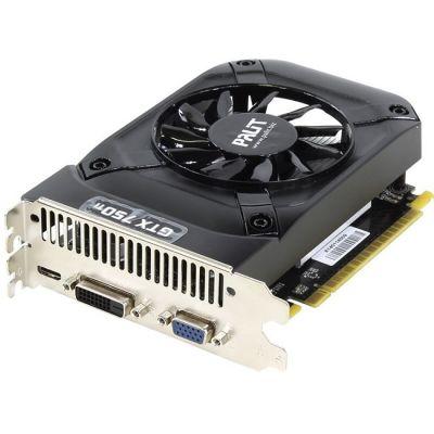 Видеокарта Palit PA-GTX750Ti StormX OC 2G nVidia GeForce GTX 750Ti 2048Mb 128bit GDDR5 1085/5500 DVIx1/mDVIx1/CRTx1/HDCP Ret NE5X75TS1341-1073F