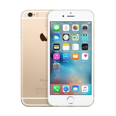 Смартфон Apple iPhone 6s 16Gb Gold MKQL2RU/A