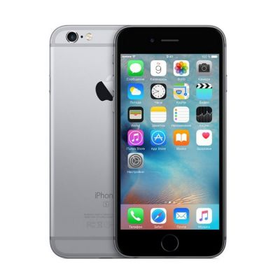 Смартфон Apple iPhone 6s 16Gb Space Gray MKQJ2RU/A
