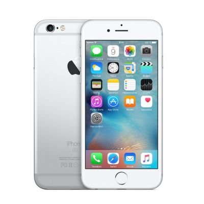 Смартфон Apple iPhone 6s 64Gb Silver MKQP2RU/A