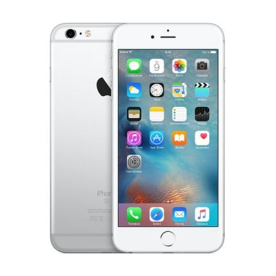 Смартфон Apple iPhone 6s Plus 16Gb Silver MKU22RU/A