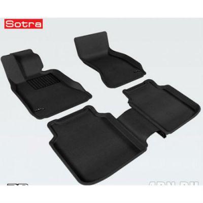 Sotra Коврики салона текст.BMW 7**-Li F02 RWD 2009-2012 LINER 3D Lux с бортиком черные ST 74-00372