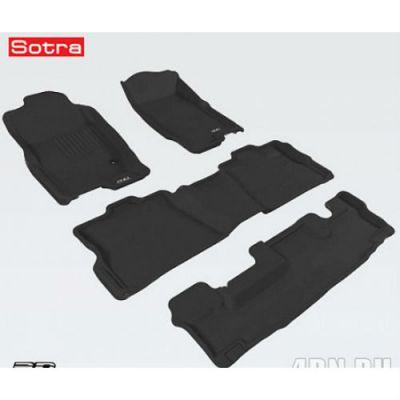Sotra Коврики салона текст.Ford Explorer V 2010-> (3 ряда сид.) (U502) LINER 3D Lux с бортиком черные (с консолью) ST 74-00541