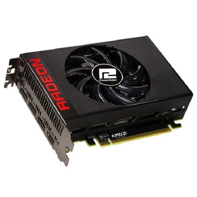 Видеокарта PowerColor PCI-E AMD Radeon R9 NANO 4096Mb 4096bit HBM 1000/500 DVIx2/HDMIx1/DPx3/HDCP Ret AXR9 NANO 4GBHBM-DH
