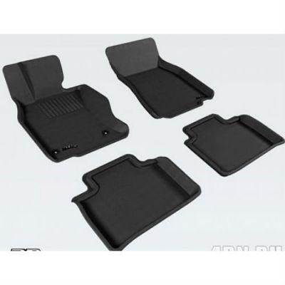 Sotra Коврики салона текст.Lexus LS600H 2009-> (UVF46) LINER 3D Lux с бортиком черные ST 74-00447
