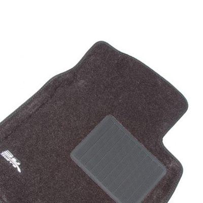 Sotra Коврики салона текст.VW Touareg 2011-> (2-х зон. климат-контроль) LINER 3D Lux с бортиком серые ST 74-00454