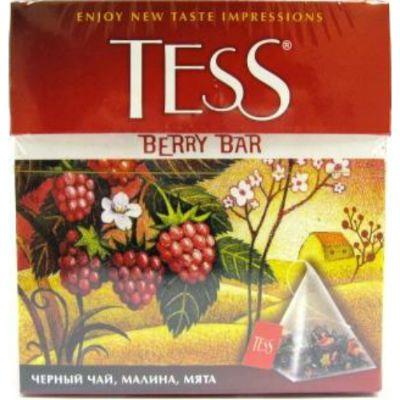Чай TESS Берри Бар (1,8гх100п) чай пирам.черн.с доб.ХРК 1040-05