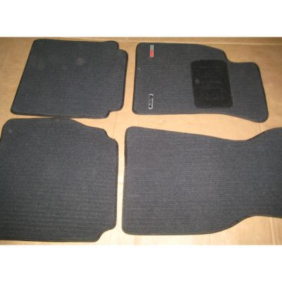 Sotra Коврики салона текст.Audi A6 2004-> Sed TXT-вставка, Corona темносерый STR71-00231