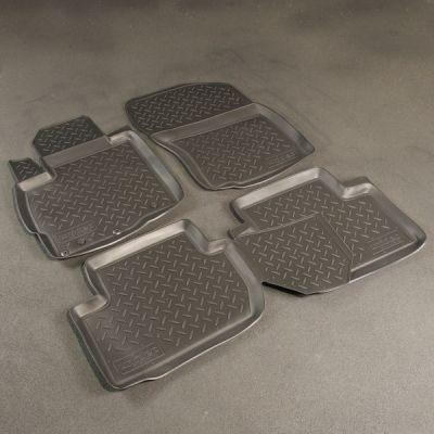 Norplast Коврики салона Mitsubishi Outlander III 2012-> с бортиками полиуретановые черные NP PO-A11-C59-510