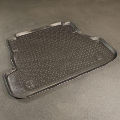 Norplast Коврик багажника Kia Spectra с бортиком полиуретановый черный NP P-43-44