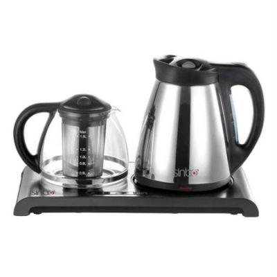 Электрический чайник Sinbo SK 2374 серебристый/черный