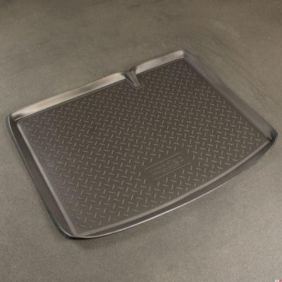 Norplast Коврик багажника Renault Sandero 2010-> с бортиком полиуретановый черный NP P-69-60