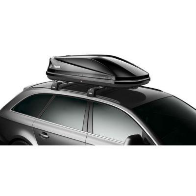 Автобокс Thule Touring 200 (M) 400л 175x82x45 черный глянцевый TU 6342B