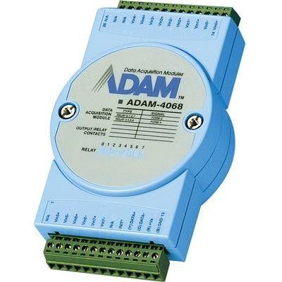 Advantech Модуль релейного дискретного вывода 8CH W/MODBUS ADAM-4068-BE