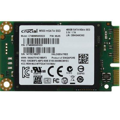 ������������� ���������� Crucial SSD MSATA 480GB 6GB/S CT480M500SSD3