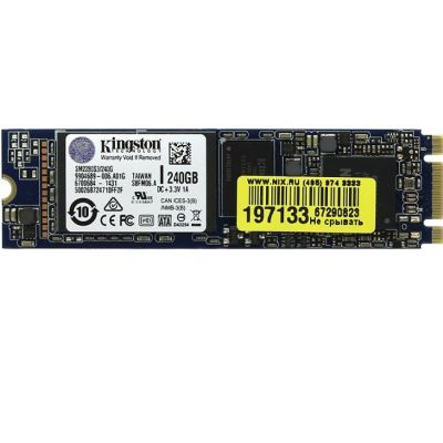 ������������� ���������� Kingston SSD M.2 2280 240GB SM2280S3/240G