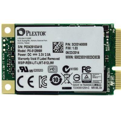 SSD-диск Plextor SSD MSATA 512GB 6GB/S PX-512M6M