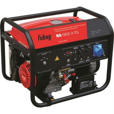 Электростанция Fubag BS 6600 AES 838204
