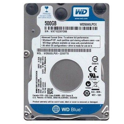 ������� ���� Western Digital HDD SATA 500GB 5400 RPM 16MB WD5000LPCX