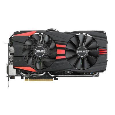 Видеокарта ASUS PCI-E R9390X-DC2-8GD5 AMD Radeon R9 390X 8192Mb 512bit GDDR5 1050/6000 DVIx2/HDMIx1/DPx1/HDCP Ret R9390X-DC2-8GD5
