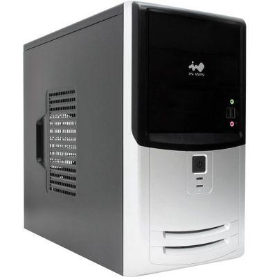 Корпус InWin Minitower EMR018 Black-Silver Micro ATX 450W (24+4+6пин) 6100456 / 66025210 / 6078065