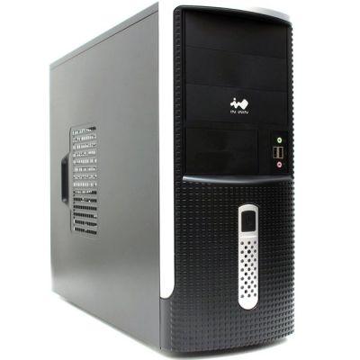 InWin Midi Tower InWin EAR001 Black/Silver 450W 2*USB+Audio ATX (24+2x4+6пин) 6101089